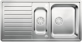 BLANCO CLASSIC Pro 6 S-IF InFino nerez hodvábny lesk obojstranný s exc. prísluš. áno523665