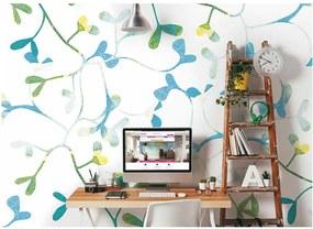 ohpopsi Fototapeta - Watercoloured Petals 350x280 cm