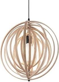 Moderné svietidlo IDEAL LUX Disco SP1 Legno 138275