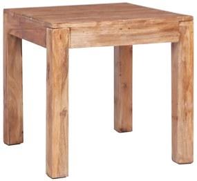 vidaXL Konferenčný stolík 53x50x50 cm recyklovaný masív