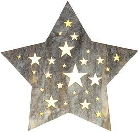 RETLUX RXL 347 hviezda perforovaná malá 50003942