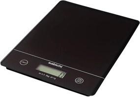 Čierna digitálna kuchynská váha Sabichi