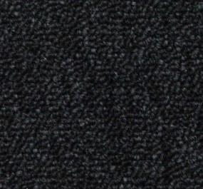 Tapibel Metrážový koberec Cobalt 42351 černý - Rozměr na míru bez obšití cm