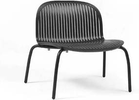 Ninfea Relax stolička antracitová