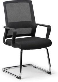 Konferenčná stolička Low, čierna