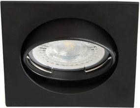 Kanlux Navi 25991 Zápustné Bodové Svetlá matný čierny hliník 1 x MR-16 max. 50W IP20