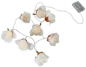 STAR TRADING Dekoratívna svetelná LED reťaz Flower Rose
