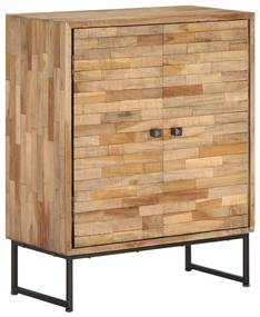 vidaXL Kredenc, regenerované teakové drevo, 60x30x75 cm