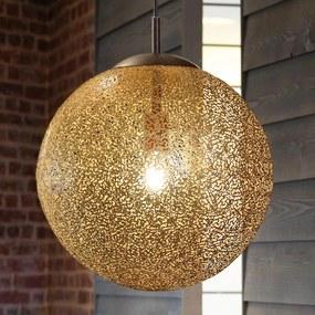 Závesná lampa Greta s guľatým tienidlom 40cm