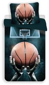 Jerry Fabrics Detské bavlnené obliečky – Basketball 140x200/70x90cm