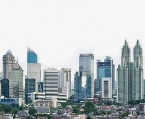 Luxusné vliesové fototapety, rozmer 325,5 cm x 270 cm, Jakarta, P+S International CL67A