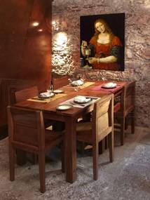 Obraz na plátne REPRODUKCIA – Leonardo da Vinci REP275