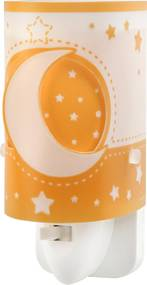 Dalber Detské nočné svetlo Moon Orange