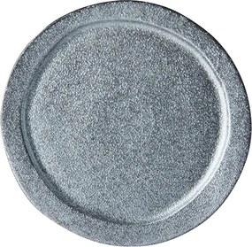 MIJ Guľatý tanier Craft Black 24,5 cm