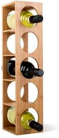 Klarstein Rack No. 3, bambusový regál na víno, stohovateľný
