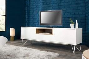 TV-stolík Baltic 150cm biely