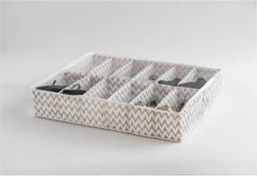 Textilný organizér na topánky Compactor Clear