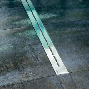 Sprchový žľab Ravak Runway 85 cm nerez lesk lines X01388