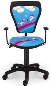 Detská otočná stolička MINISTYLE PONY