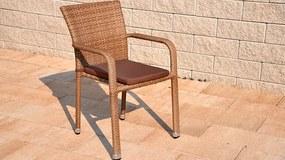 Exterio John natur stolička
