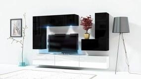 MEBLINE Obývacia stena ONLY 3D