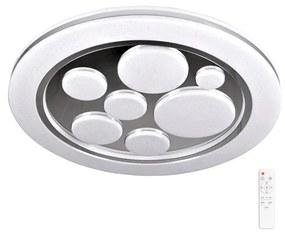 Polux LED Stmievateľné stropné svietidlo PLANET LED/48W/230V pr. 38 cm 3000-6500K + DO SA1597