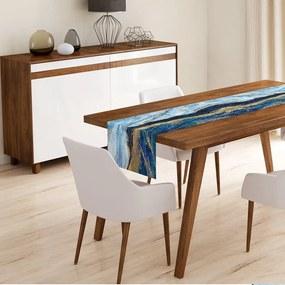 Behúň na stôl z mikrovlákna Minimalist Cushion Covers Nasto, 45 x 145 cm