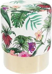 Stolička Kare Design Cherry, Jungle ∅ 35 cm