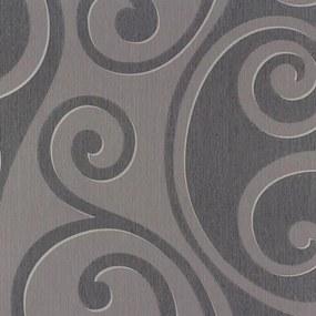 Vliesové tapety, ornamenty fialové, Di Moda 54245, Marburg, rozmer 10,05 m x 0,53 m