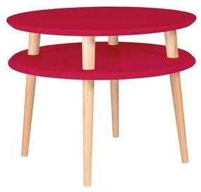 RAGABA Ufo konferenčný stôl stredný, červená