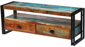 vidaXL TV stolík z masívneho recyklovaného dreva