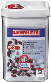 LEIFHEIT Dóza na potraviny FRESH & EASY hranatá 0,8 l, 31208