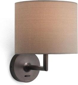 ASTRO 0923 APPA nástenná základňa s vypínačom bronz 230V E14 40W