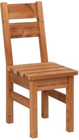 Záhradná stolička drevená PROWOOD z ThermoWood – Stolička ZK2