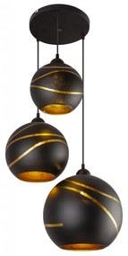 GLOBO LOMMY 54005-3H Závesné svietidlo