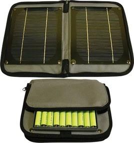 Solárny panel TPS 956 - 4W + 10ks nabíjacie batérie AA