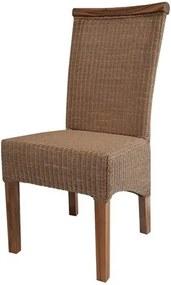 Sconto Jedálenská stolička PERTH prírodná/loom