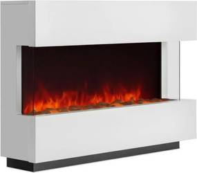 Klarstein Studio-1, biely, elektrický kozub, LED simulácia plameňa, 750/1500 W, 40 m²