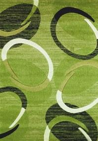 Spoltex koberce Liberec Kusový koberec Florida green 9828 - 80x150 cm