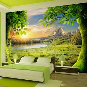 Fototapeta - Glade of dreams 200x140 cm
