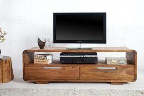 TV stolík Goa 130 cm z masívneho dreva Sheesham
