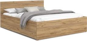 GL Manželská posteľ Dolly - dub craft Rozmer: 180x200