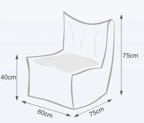 Sedací Vak INTERMEDIC  Solid polyestér - NC01 - Zelená svetlá olivová (Polyester)