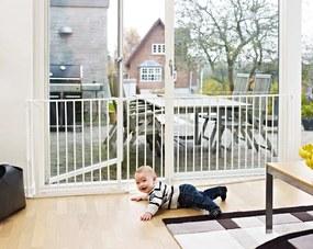 Baby Dan Priestorová zábrana Flex L, 90-225 cm - biela