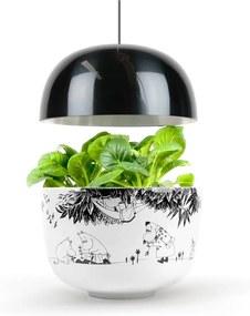 Domáca inteligentná čierno-biela záhradka Plantui Moomin Smart Garden Black