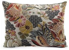 Dekoratívny vankúš s kvetinovým vzorom s prímesou bavlny House Nordic Alvito, 60 × 45 cm