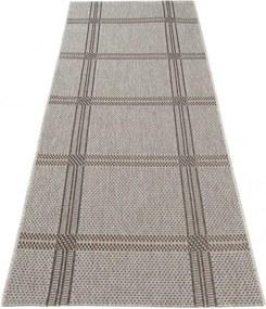 Kusový koberec Boby béžovohnedý atyp, Velikosti 80x200cm