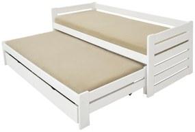 FA Detská posteľ Veronika 11 (200x90 cm) s prístelkou - viac farieb Farba: Dub, Variant bariéra: S bariérou