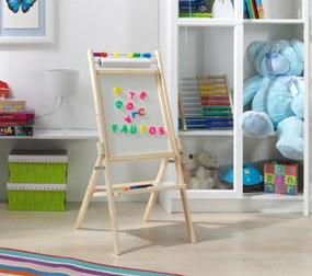 Otočná detská tabuľa - biela OPN