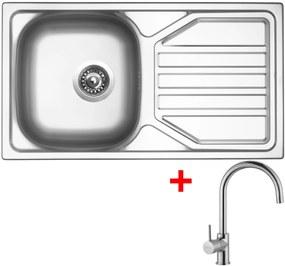 Set Sinks OKIO 780 V matný + batéria VITALIA